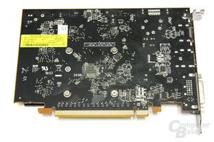 Radeon HD 7750 Rückseite