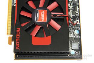 Radeon HD 7750 von oben