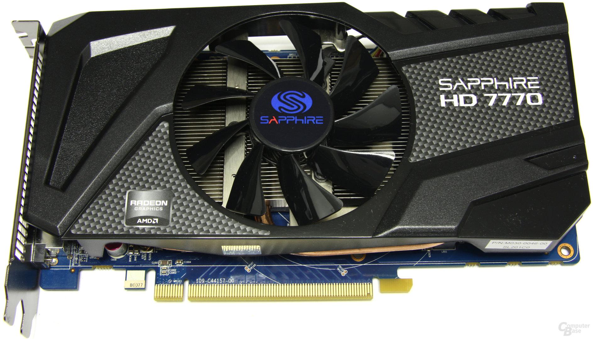 Sapphire Radeon HD 7770 OC