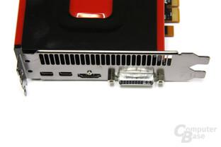 Radeon HD 7770 Anschlüsse