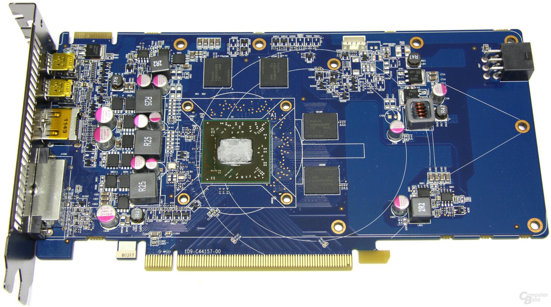 Radeon HD 7770 OC ohne Kühler