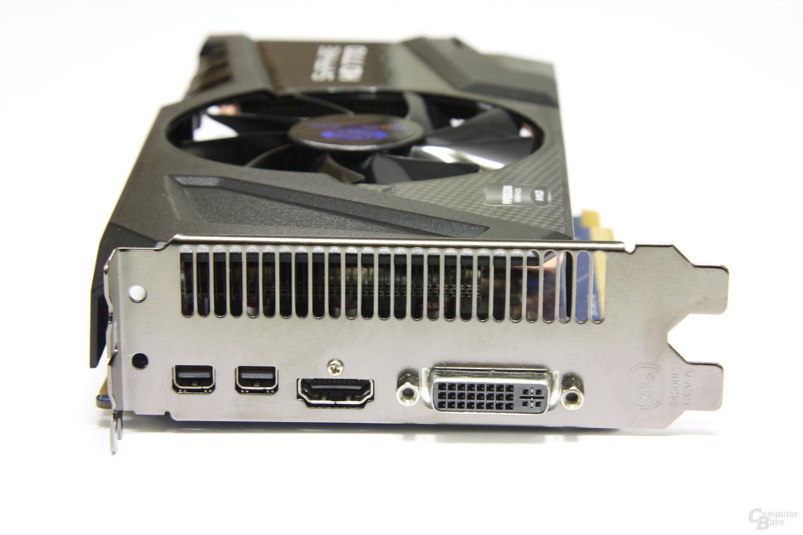 Radeon HD 7770 OC Slotblech