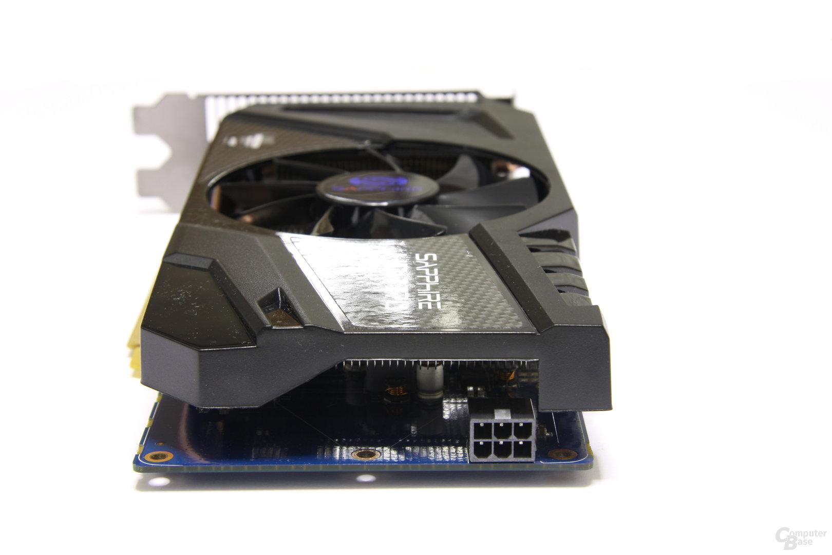 Radeon HD 7770 OC Stromanschluss