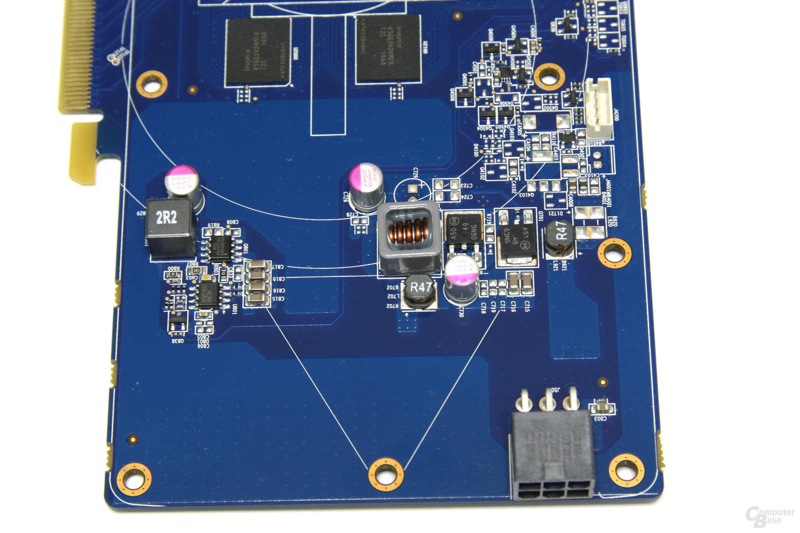 Radeon HD 7770 OC Bauteile 2