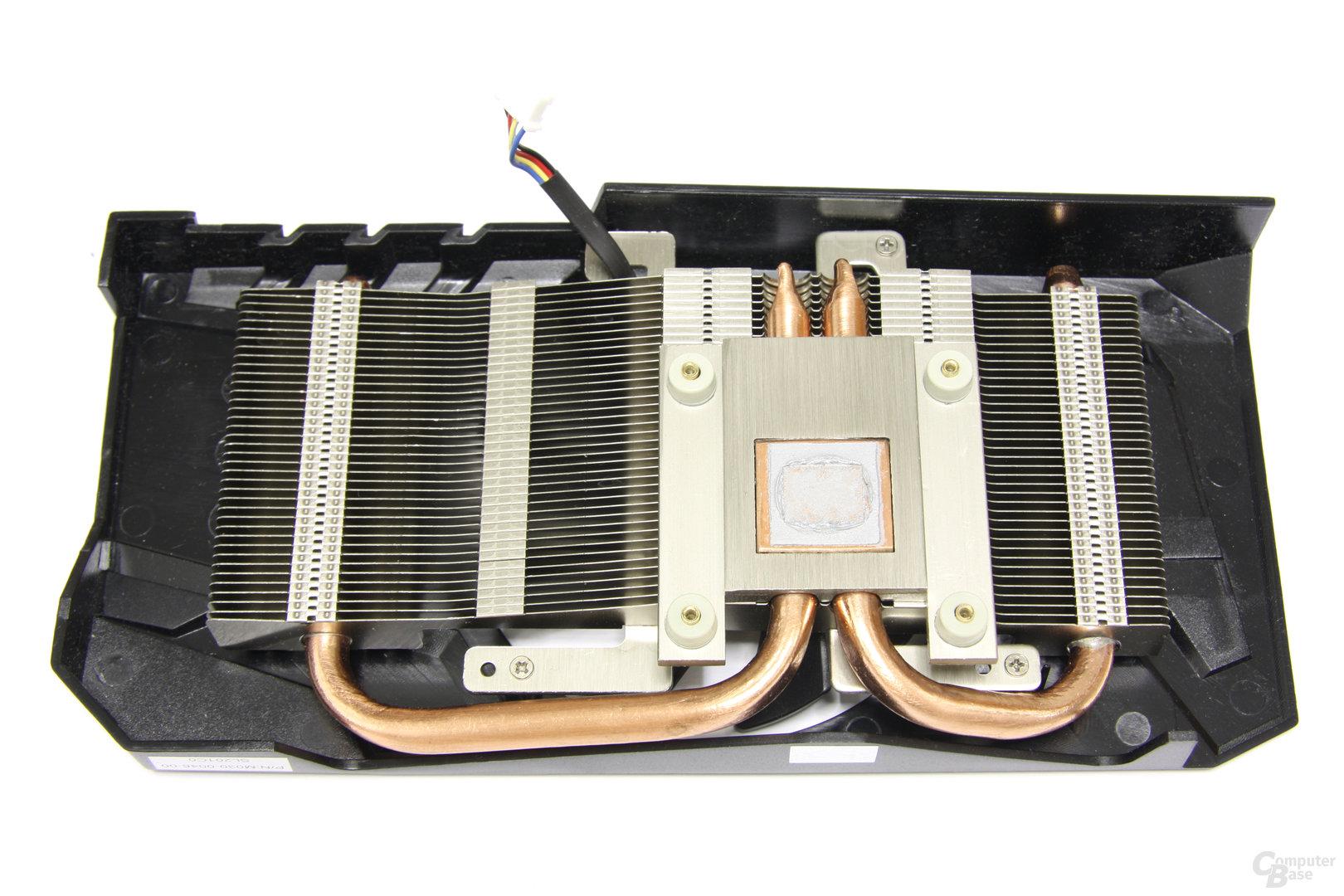 Radeon HD 7770 OC Kühlerrückseite