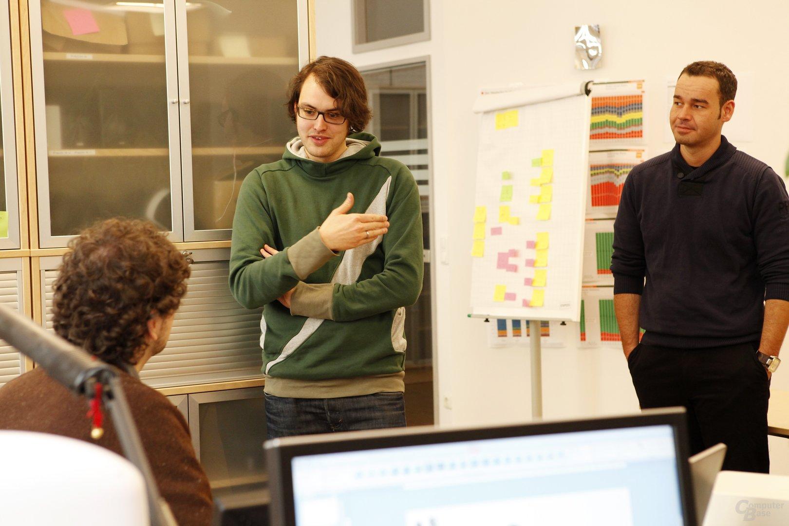 Im Gespräch mit dem Produktmanagement