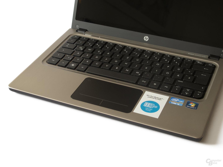 HP Folio 13: Touchpad