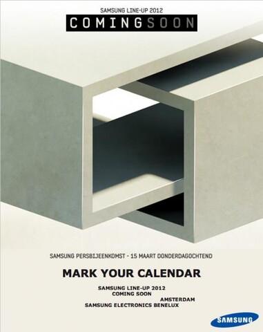 Samsung Event März