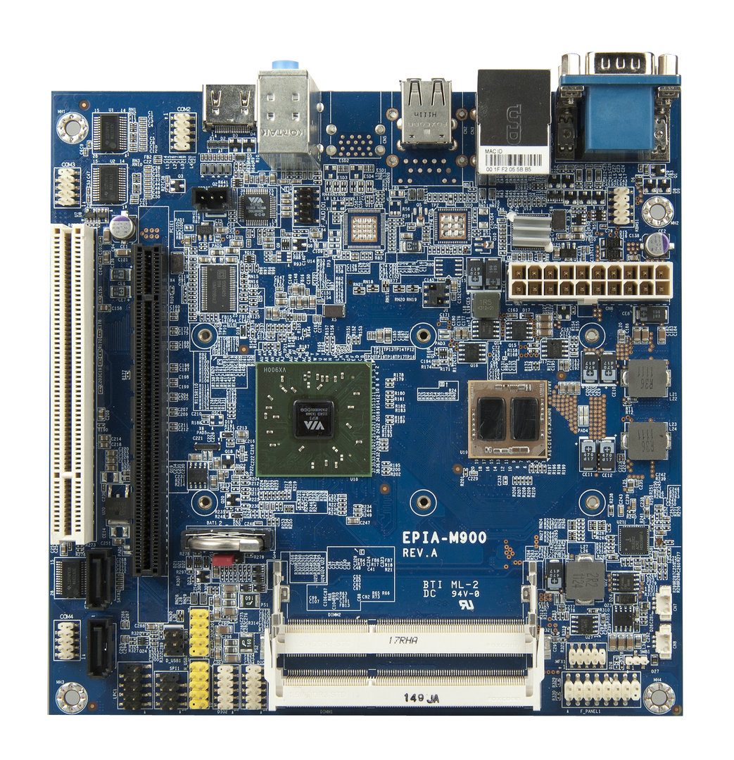 VIA EPIA-M900 Mini-ITX-Board mit Quad-Core-CPU