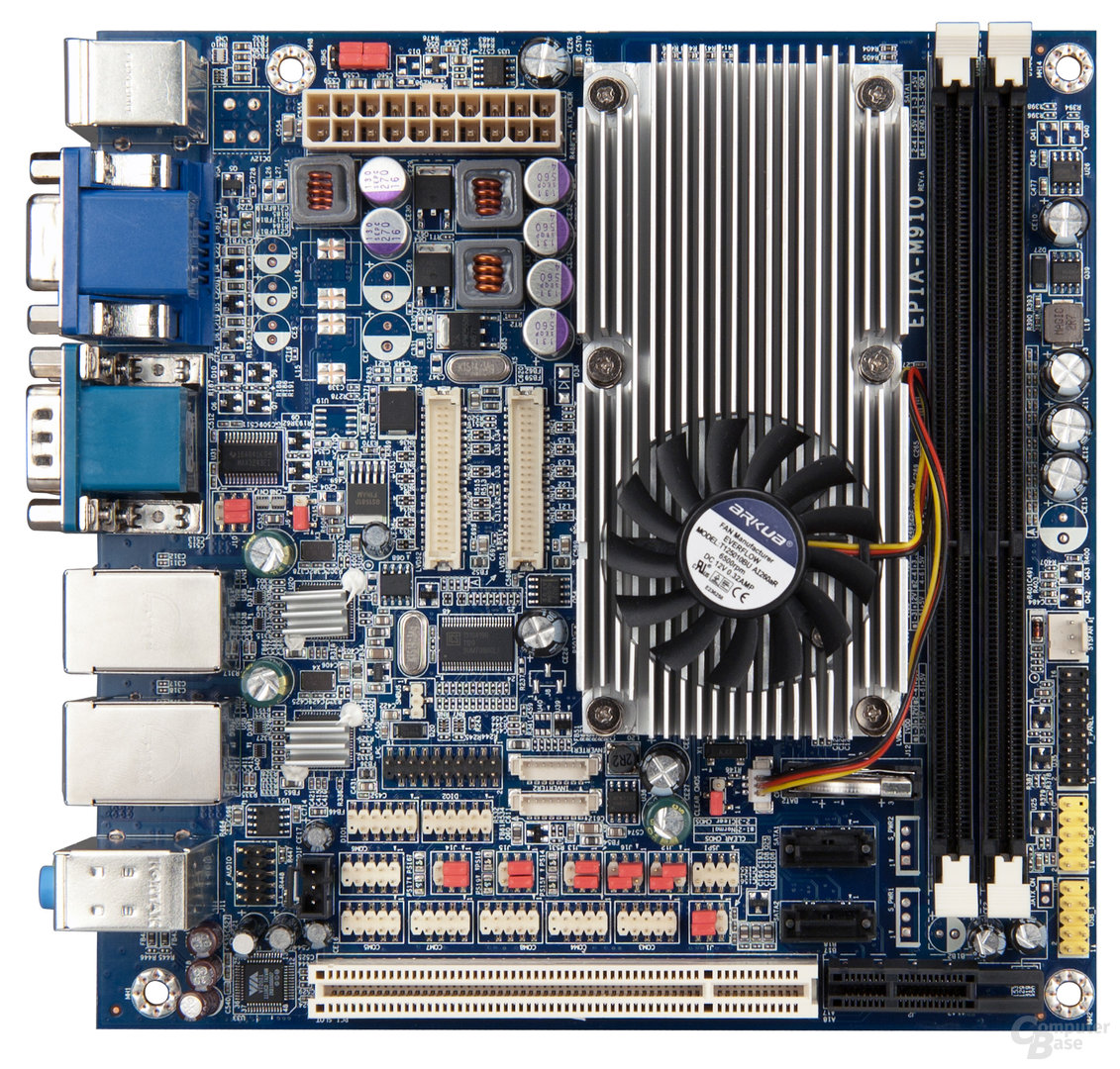 VIA EPIA-M910 Mini-ITX-Board mit Quad-Core-CPU