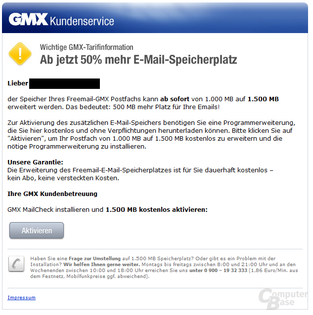 Werbe-Mail
