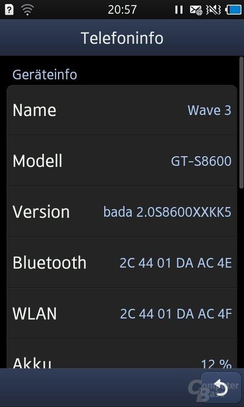 Screenshot – Bada 2.0