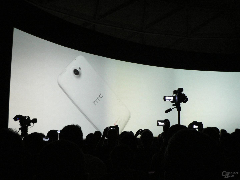 HTC-Präsentation, MWC 2012