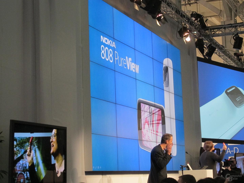 Nokia-Pressekonferenz MWC 2012