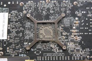 Radeon HD 7870 GPU-Rückseite