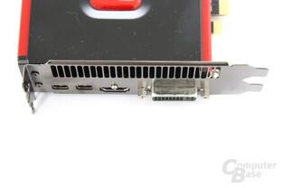 Radeon HD 7850 Anschlüsse