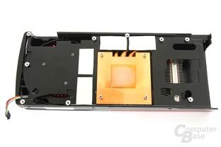 Radeon HD 7850 Kühlerrückseite