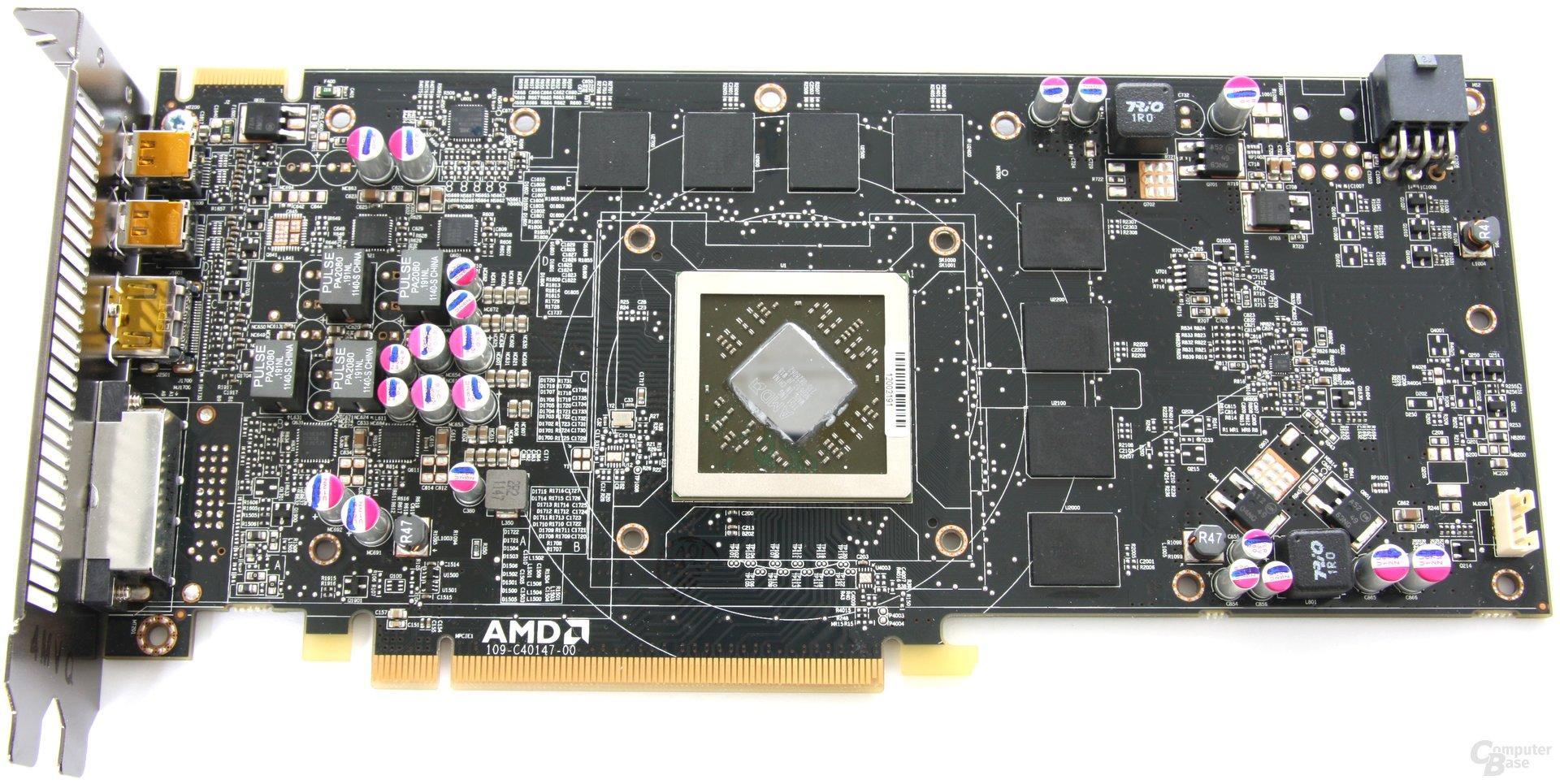 Radeon HD 7850 ohne Kühler