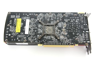 Radeon HD 7850 Rückseite