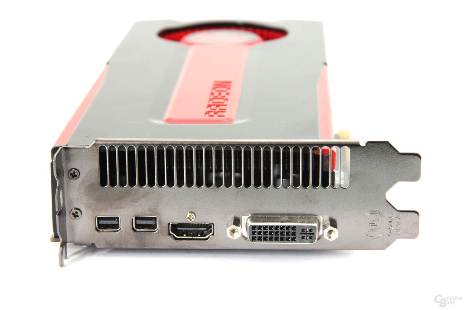Radeon HD 7850 Slotblech