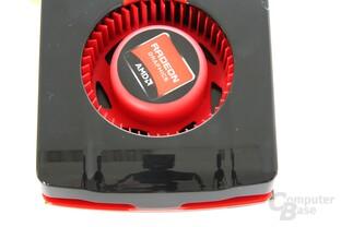 Radeon HD 7850 von oben