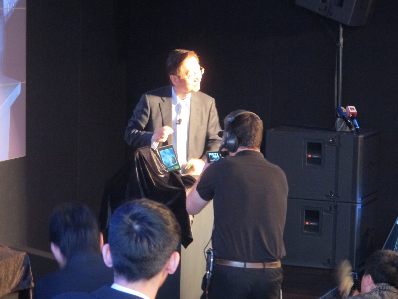 Asus-Pressekonferenz MWC 2012