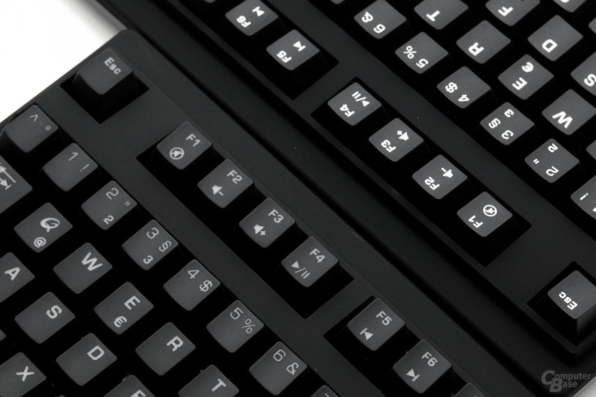 Multimediafunktionen: MK-85 links, MK-50 rechts
