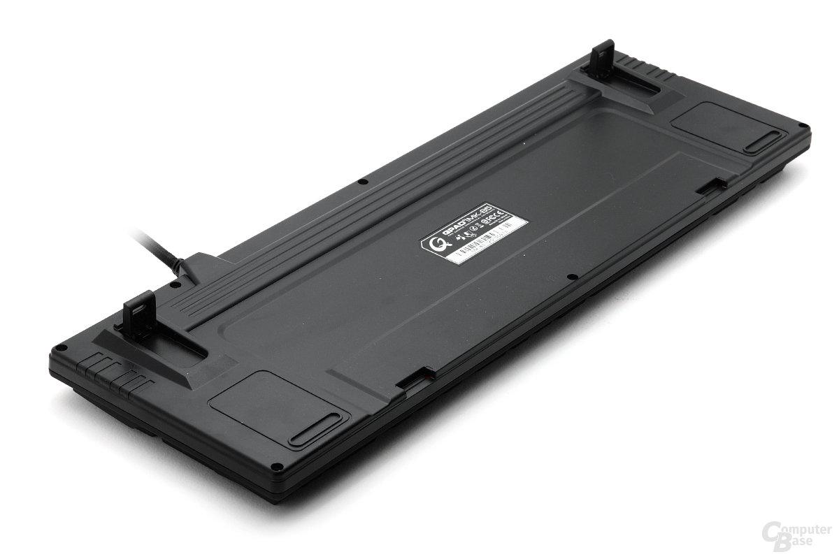 Rückansicht der Qpad-Tastaturen