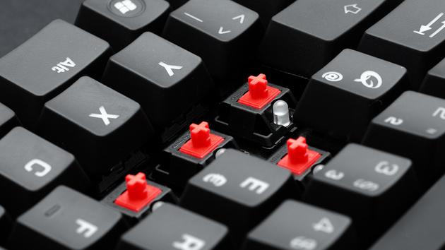 Qpad MK-50 & MK-85 im Test: Rote Cherry-MX-Tastaturen