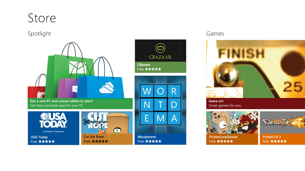 The new Windows Store