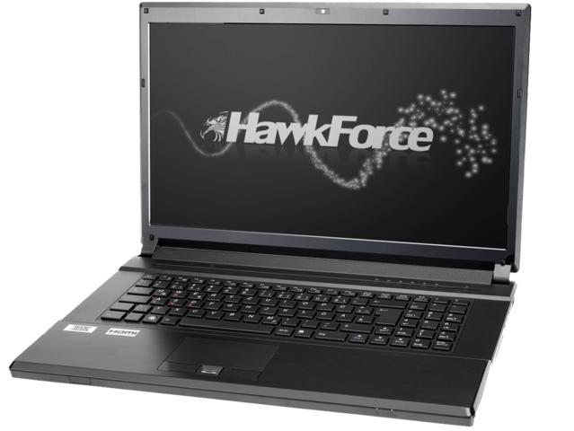 """HawkForce Clevo P170EM mit """"Ivy Bridge"""" und GTX 675M"""
