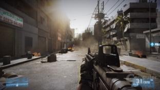 Battlefield 3 mit angepasstem LOD-Bias
