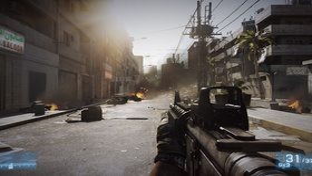 Battlefield 3 ohne angepasstem LOD-Bias
