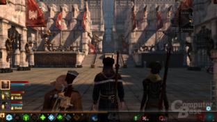 Dragon Age 2 mit angepasstem LOD-Bias (AF funktioniert nicht)