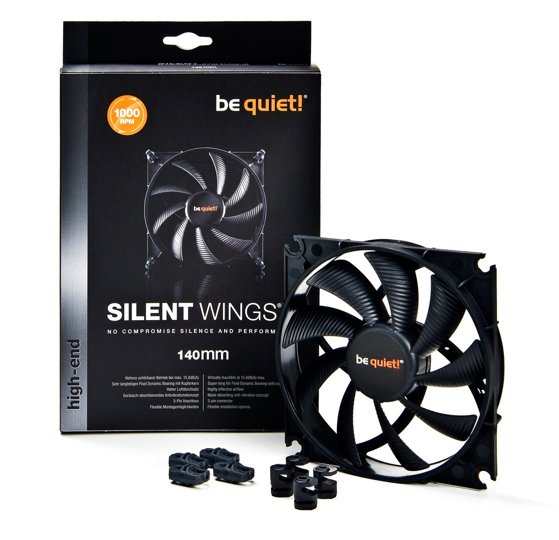 Be Quiet SilentWings 2 140 mm