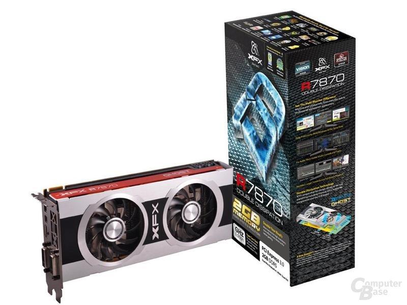 XFX Radeon HD 7870 mit Verpackung