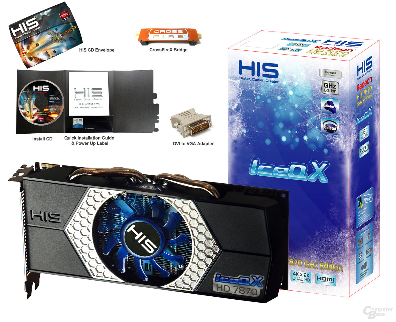 HIS Radeon HD 7870 mit Verpackung