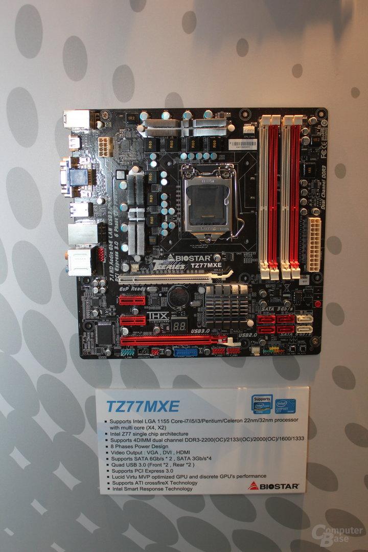 Biostar TZ77XE4