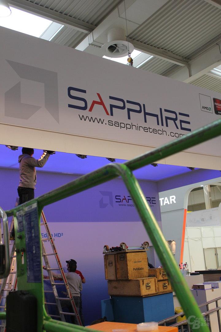 Aufbau bei Sapphire