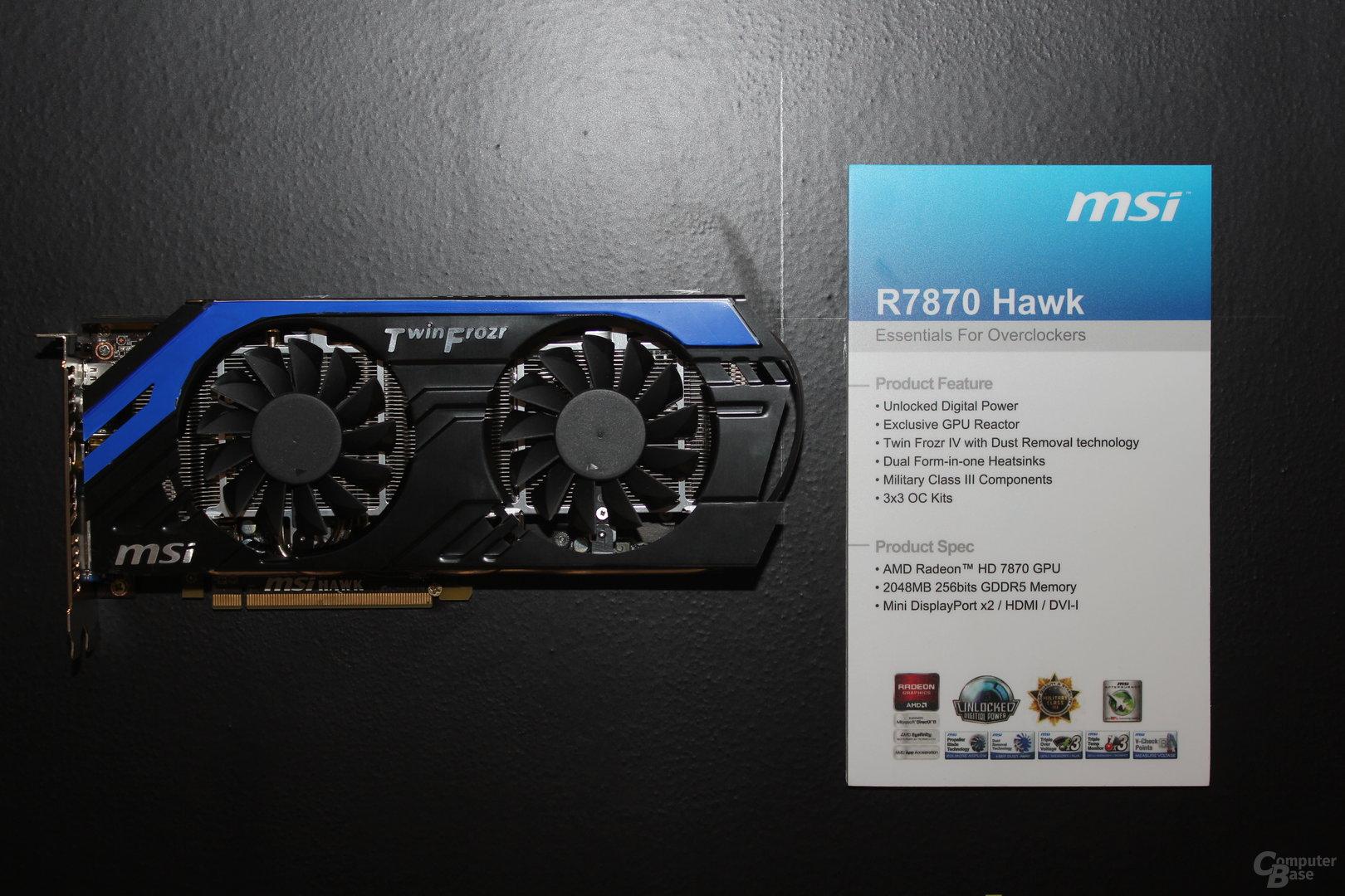 MSI R7870 Hawk