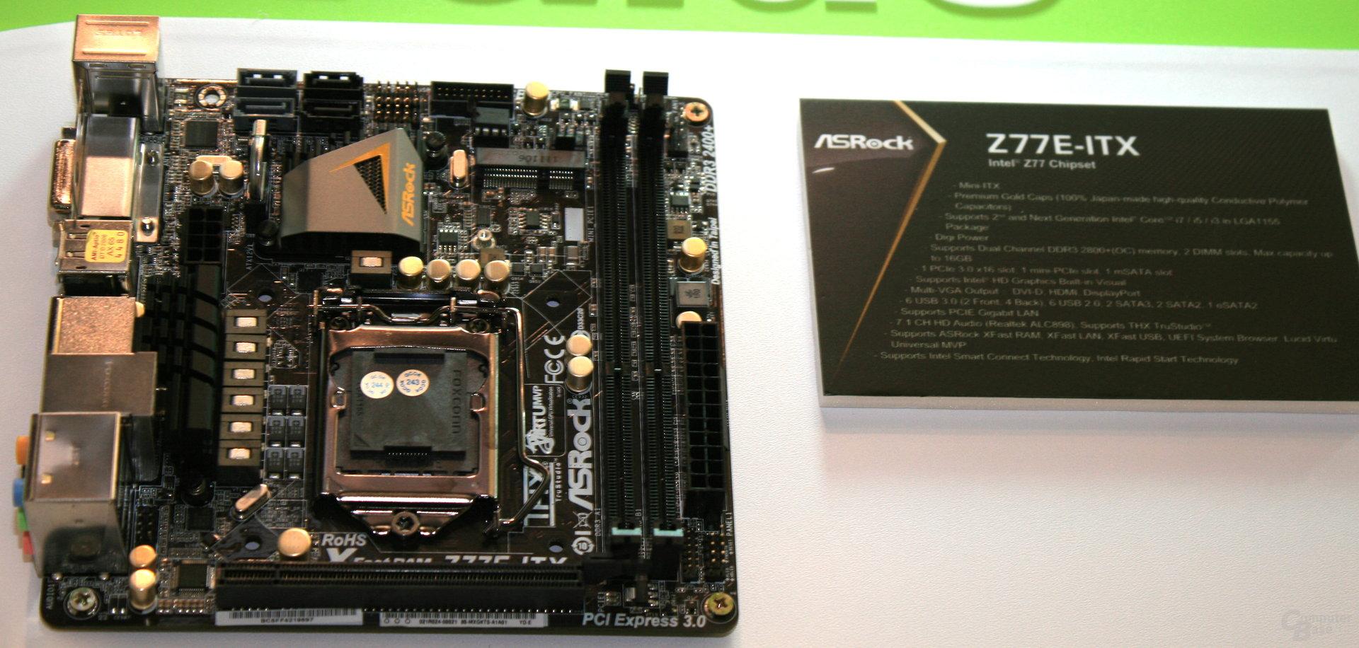 ASRock Z77E-ITX