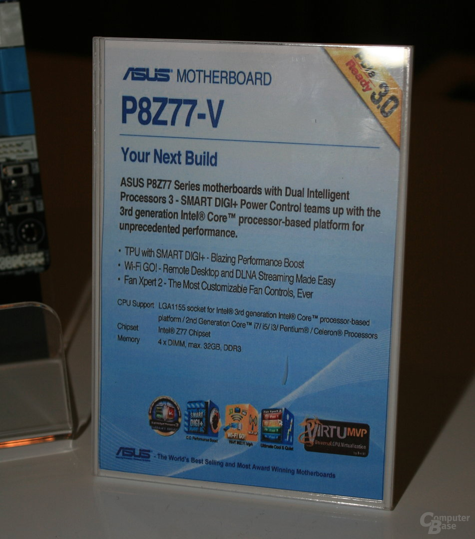Asus P8Z77-Serie