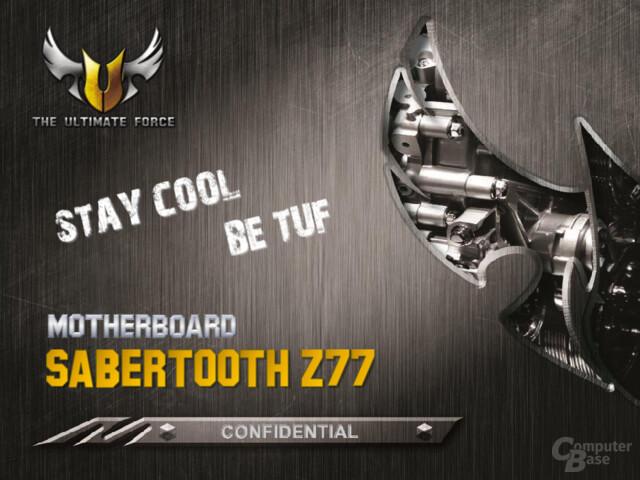 Asus Sabertooth Z77 Mainboard
