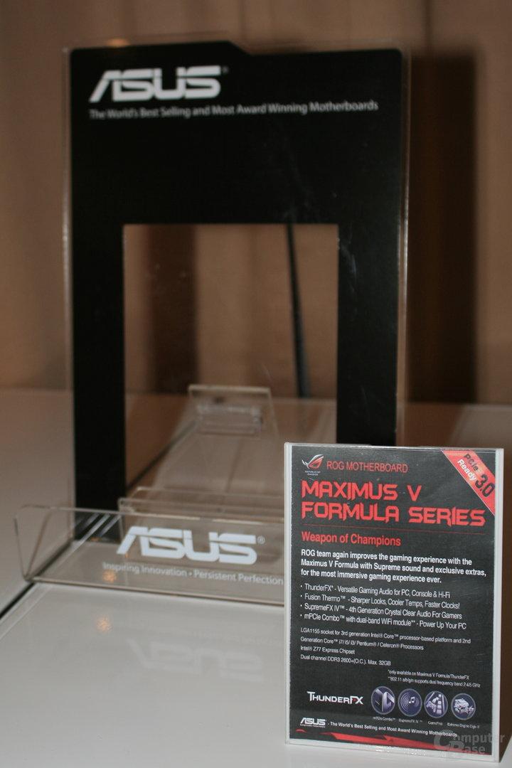 Asus ROG Maximus V Formula (Z77) - Coming soon