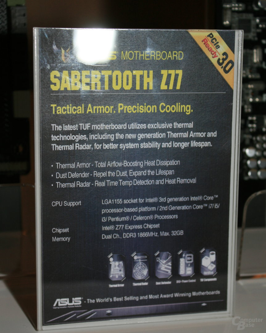 Asus Sabertooth Z77