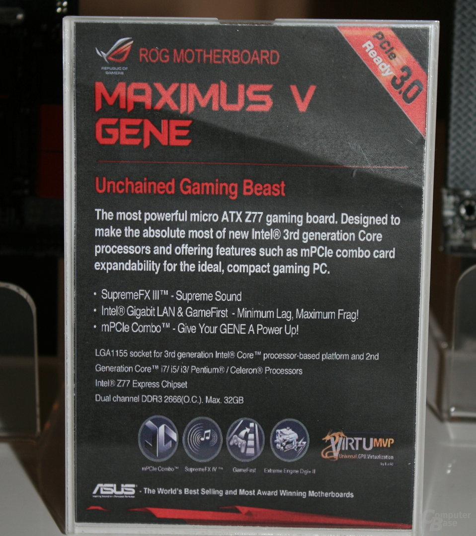 Asus ROG Maximus V Gene (Z77)