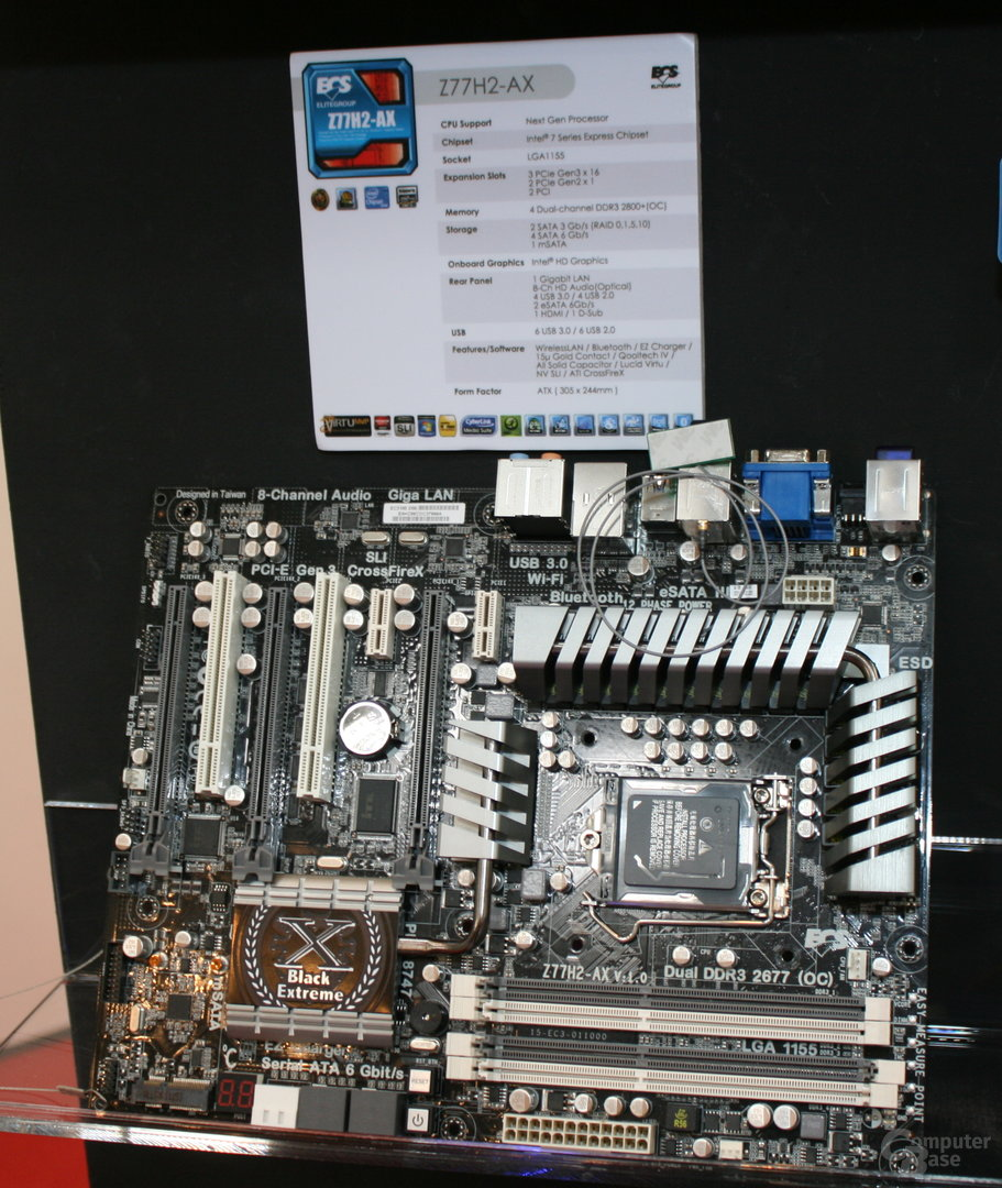 ECS Elitegroup Z77H2-AX