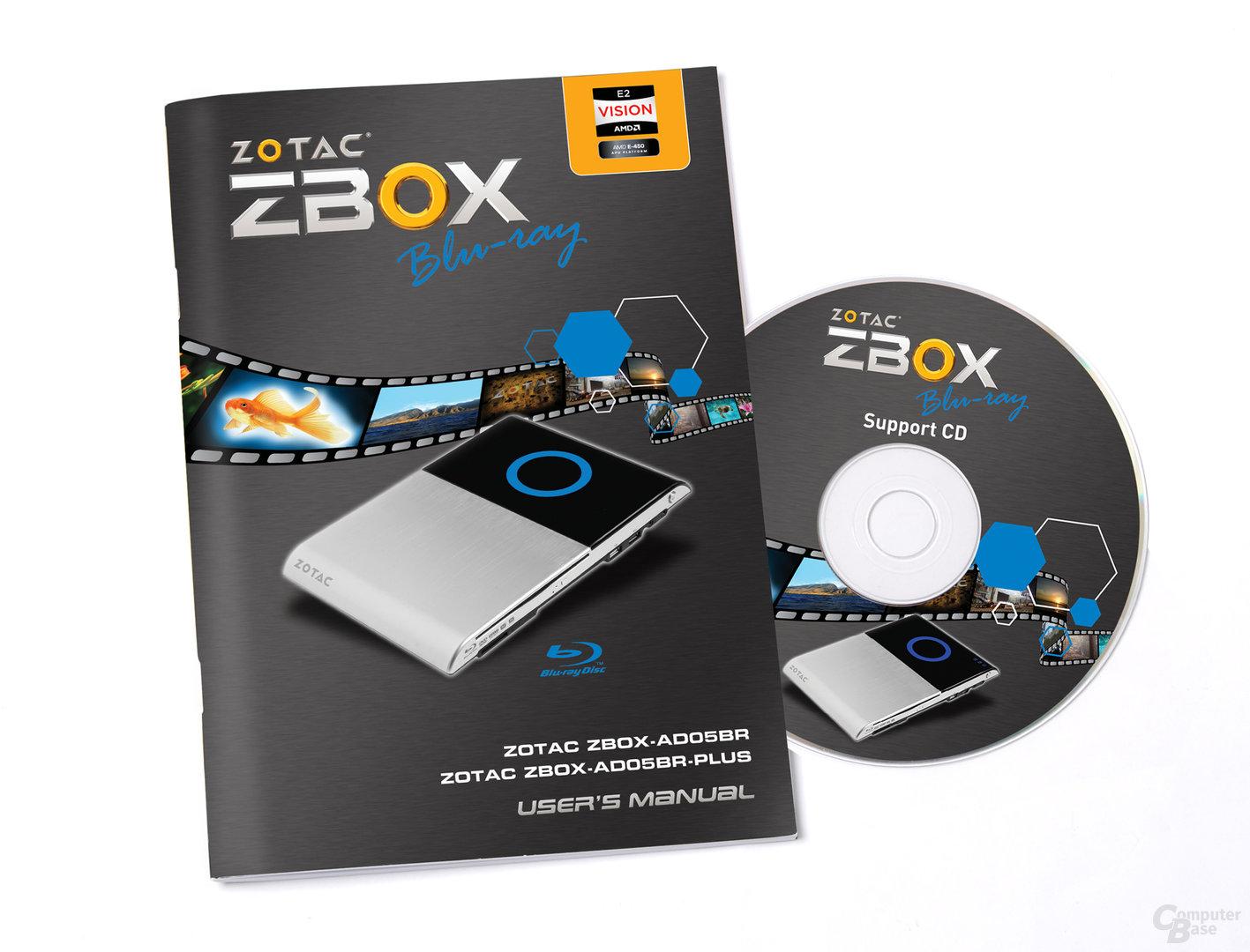 Zotac ZBox Blu-ray AD05