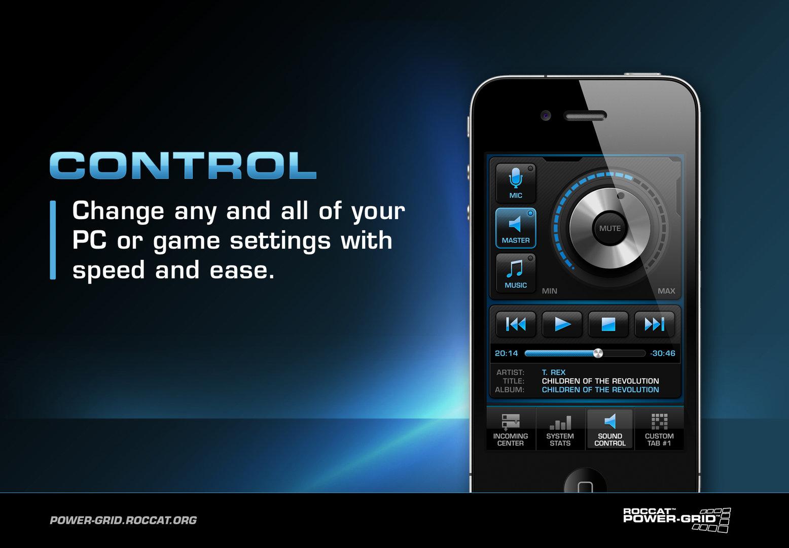 """Power-Grid-Tab """"Control"""""""
