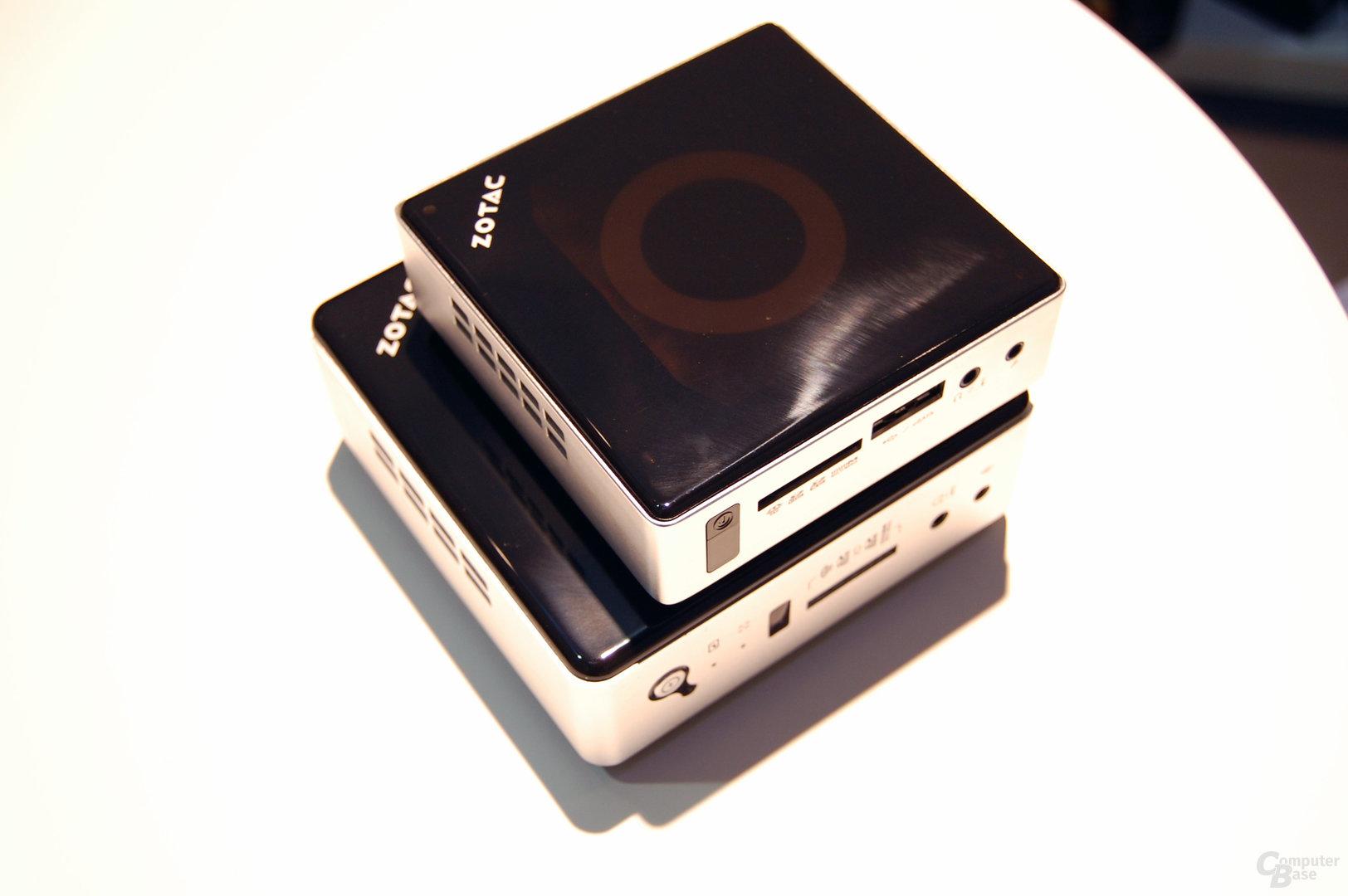 Die neue ZBox im Vergleich zur ZBox nano